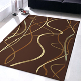 范登伯格-晶湛花容亮彩絲質感地毯-水舞100x140cm