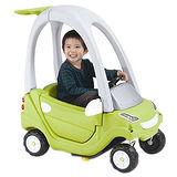 【寶貝樂】豪華嘟嘟造型學步車附踏板及控制桿-綠色