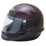 EVO台製素面全罩式機車安全帽-酒紅