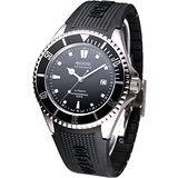 EPOS Sportive 航海家 200米潛水機械錶-(3396.131.20.15.55)膠帶款