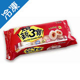 西北火鍋新三寶-紅色組合包318g(魚餃、原味水晶餃、蝦球)