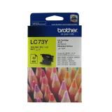 【原廠】Brother LC-73Y 墨水匣 黃色《標準》