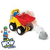 英國【WOW Toys 驚奇玩具】迷你傾卸車 托比