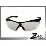 【視鼎Z-POLS 全新頂級3秒變色鏡片款】專業級TR90頂級材質 鏡腳可調 UV400超感光運動眼鏡,加碼贈多樣配件!(亮黑)