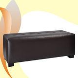 《BuyJM》精緻時尚床尾椅/穿鞋椅-寬103公分(咖啡色)