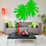 Art STICKER璧貼 。 潮流椰子樹 (F015)