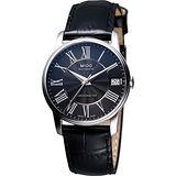 MIDO Baroncelli III Lady 機械腕錶(M0102081605320)-黑