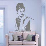 Art STICKER璧貼 。 奧黛麗赫本Audrey Hepburn (P015)