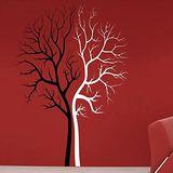 Art STICKER璧貼 。 Twin Trees (T023)