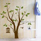 Art STICKER壁貼 。 Lovely tree (T039)
