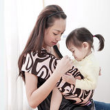 Una背巾~無環哺乳嬰兒揹巾(奧黛莉)
