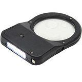 3種倍率隨身3+1LED放大鏡燈附捲尺(DT-316)