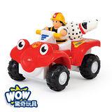 英國【WOW Toys 驚奇玩具】消防越野車 柏弟