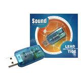 優質USB 3D音效卡(顏色隨機出貨)
