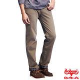 【BOBSON】男款熱感IN直筒牛仔褲(卡其72) 加大尺碼