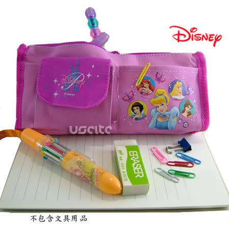Disney迪士尼白雪公主筆袋化妝包-粉紅色 -friDay購物 x GoHappy
