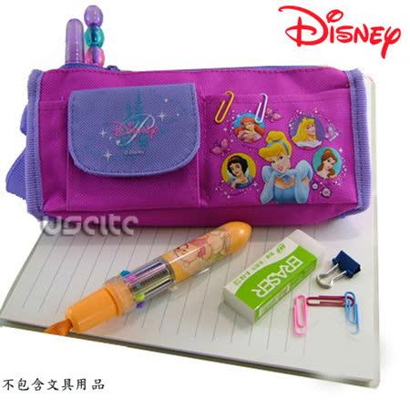 Disney迪士尼白雪公主筆袋化妝包-桃紅色 -friDay購物 x GoHappy