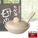 日本長谷園伊賀燒 多功能調理手掌型迷你煎烤鍋