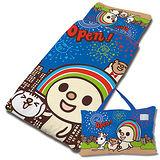 【享夢城堡】OPEN! 煙火秀系列-兒童睡袋