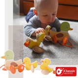 Classic world 客來喜-德國經典木玩 多功能撥珠-街景 幼兒益智玩具