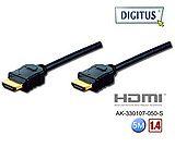 曜兆DIGITUS HDMI 1.4 鍍金線 5M-兩入裝