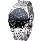 HAMILTON Classic 經典時尚機械錶(H39515134)黑面鋼