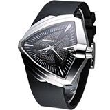 HAMILTON Ventura XXL 貓王盾形造型 機械錶(H24655331)銀框