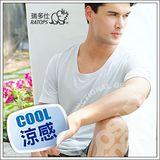 【瑞多仕-RATOPS】款 Coolmax 圓領快乾排汗內衣/銀灰 DE7001 B