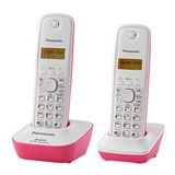 國際牌Panasonic 2.4G數位雙手機無線電話KX-TG3412蜜桃紅