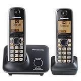 國際牌Panasonic新款斷電可用2.4G數位大字體雙手機無線電話KX-TG3712經典黑