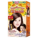 美吾髮葵花亮澤染髮霜(4咖啡黑)