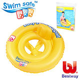 (購物車)《購犀利》美國品牌【Bestway】27吋雙環平衡寶寶安全充氣座圈、幼兒泳圈