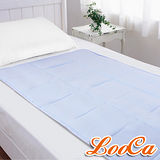 【LooCa】超涼感凝膠床墊(清新藍)