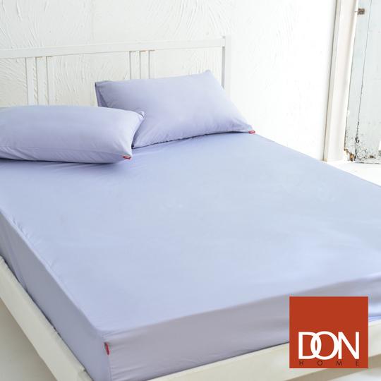 《DON─原色時尚》單人精梳純棉床包組(魅力紫)