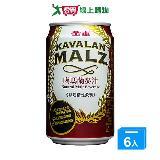 金車噶瑪蘭黑麥汁(罐)310ML*6入