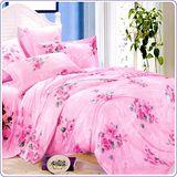 【百花盛開】100%莫代爾鋪棉兩用被床包四件組-雙人