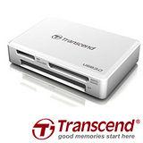 Transcend 創見 RDF8 USB 3.0 多功能讀卡機-象牙白