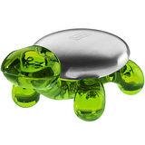 《KOZIOL》Ama去味皂+烏龜座(透綠)