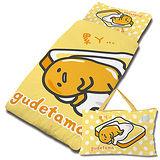 【享夢城堡】Gudetama 吐司蛋黃哥系列-兒童睡袋