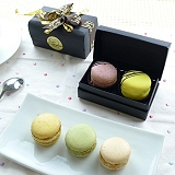 JOYCE巧克力工房-繽紛馬卡龍珠寶盒-2入禮盒【法國空運新鮮直送】