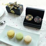 JOYCE巧克力工房-炫彩馬卡龍珠寶盒-2入禮盒【法國空運新鮮直送】