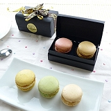 JOYCE巧克力工房-馬卡龍珠寶盒-2入禮盒【法國空運新鮮直送】