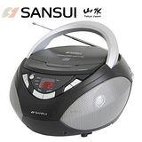 媽咪享好禮 SANSUI山水 CD/AUX手提式音響(SB-80N)