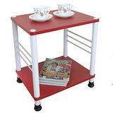 固定腳-活動輪-邊桌(二款可選)喜氣紅色