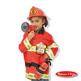 美國瑪莉莎 Melissa & Doug 角色扮演 -【消防服裝扮遊戲組】玩具