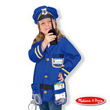 美國瑪莉莎 Melissa & Doug 角色扮演 -【警察服裝扮遊戲組】玩具