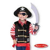 美國瑪莉莎 Melissa & Doug 角色扮演 -【海盜服裝扮遊戲組】玩具