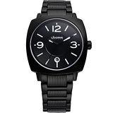 LICORNE Twilight 曙光系列 時尚腕錶(LI016BBBA-W)-黑/白字