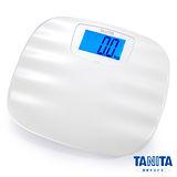 日本TANITA波浪珠貝全自動電子體重計HD-390白