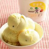 【吉農冰城】百香果冰淇淋(1公升x4盒)